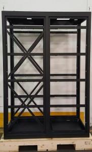 Holding rack for TV transmitters